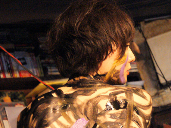 """In """"Yoruno Hirune"""" 27th Nov. Youko DJ: DJ Soi Cowboy Photo: Kosei Kobayashi"""