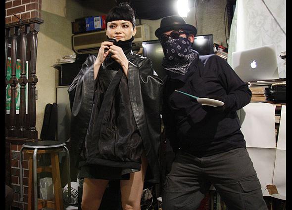 "In ""Yoruno Hirune"" 27th Nov. Rie DJ: DJ Soi Cowboy"