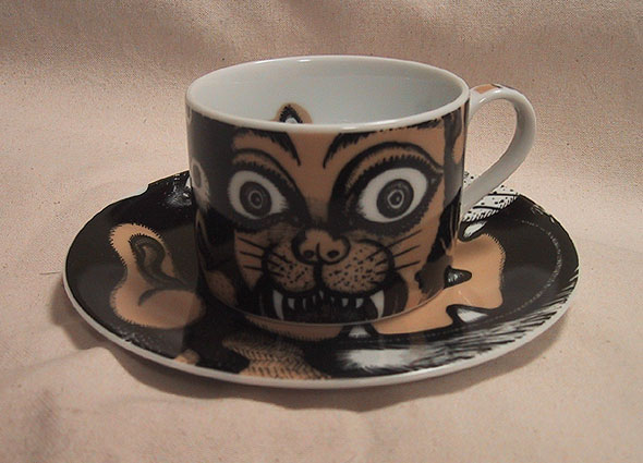 Cup and Saucer 2007 (Limited Production by Guardian Garden in Tokyo)