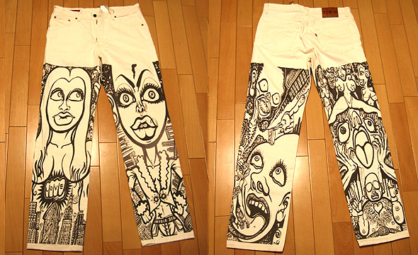 Original Print Jeans 2005 (Limited Production by Guardian Garden in Tokyo)